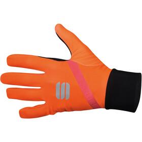 Sportful Fiandre Light Guanti, arancione/nero